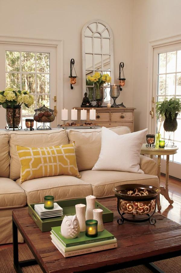 65 living room decorating ideas art and design for Living room yellow accents
