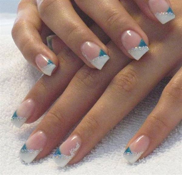 wedding nails - 40 Ideas for Wedding Nail Designs <3 <3 ... - 40 Ideas For Wedding Nail Designs Art And Design