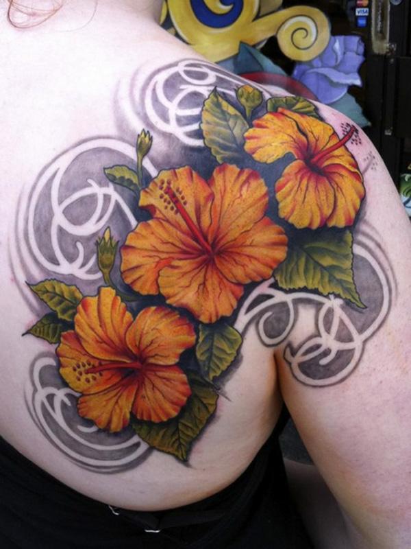 40 Magnificent Hibiscus Flower Tattoos Cuded