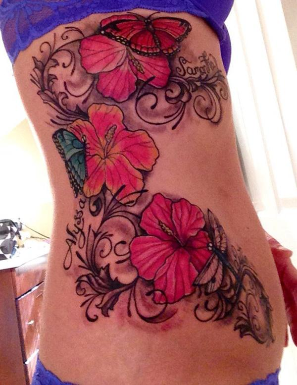 40 Magnificent Hibiscus Flower Tattoos  Art And Design