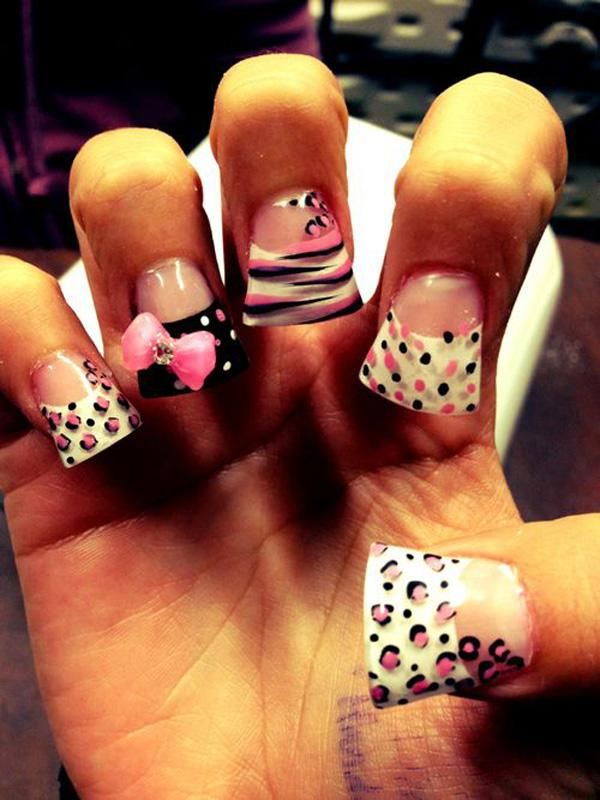 50 Cheetah Nail Designs | Art and Design