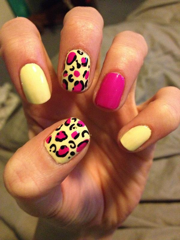 50 Cheetah Nail Designs | Art and Design