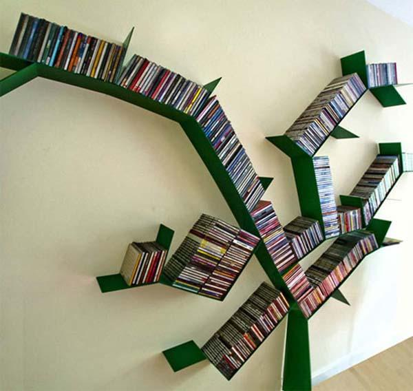 green tree grows bookshelf design 60 creative bookshelf ideas