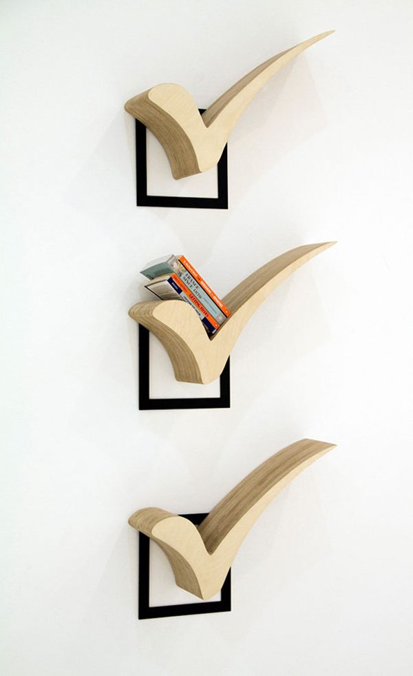 60 Creative Bookshelf Ideas | Art and Design