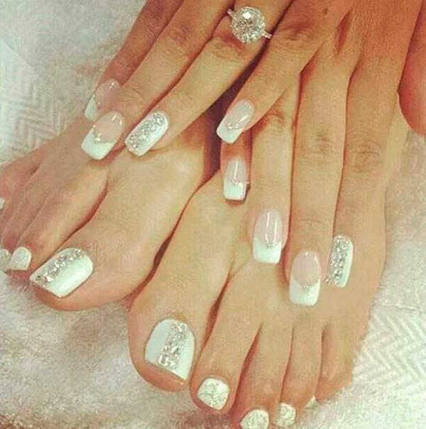 40 Ideas For Wedding Nail Designs Art And Design