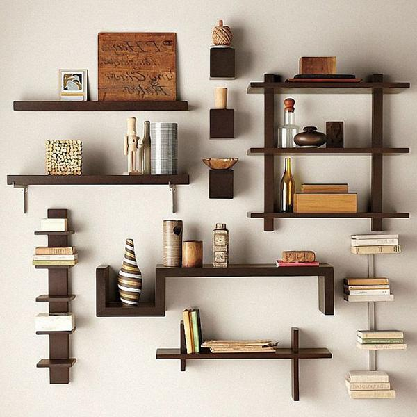 Creative Design Ideas Wall Bookshelves 60 Bookshelf 3