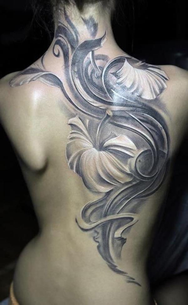 Hibiscus Tattoo Men