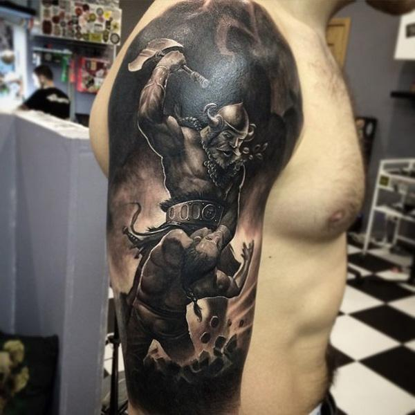 Warrior Tattoo-31