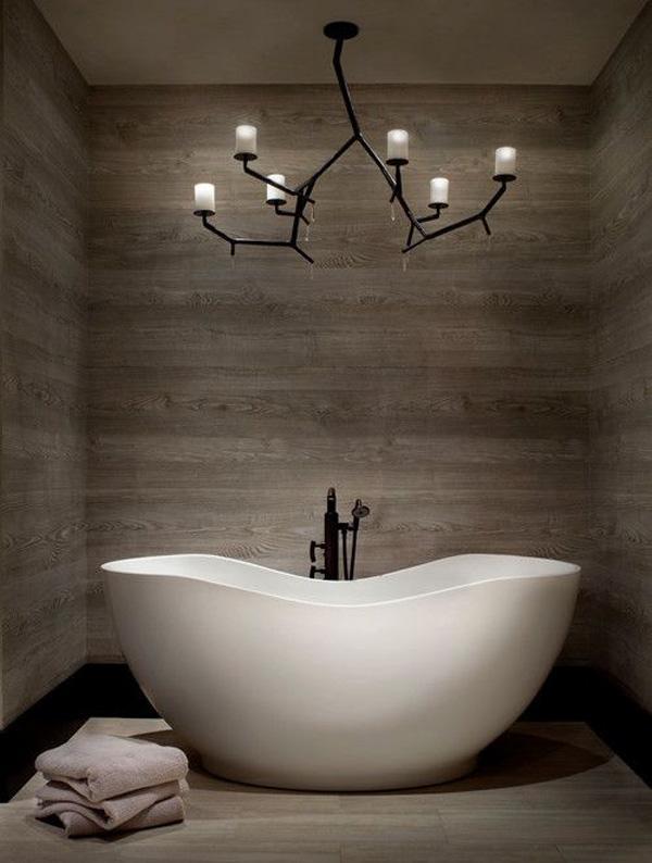 A tall and quaint little bath tub perfect for your bathroom.