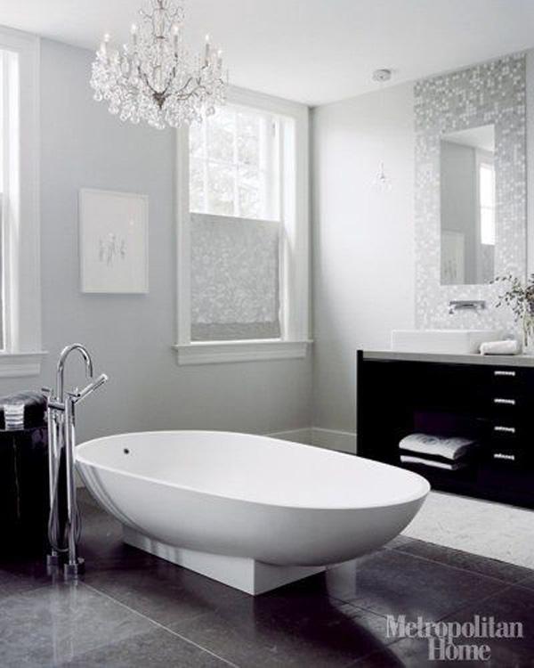 Luxurious Spa Master Bath Bathrooms Modern Contemporary Interior Design Home Decorating Ideas Hotel Spa