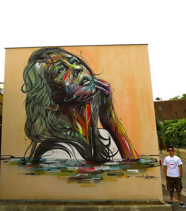 Orsay city by Hopare