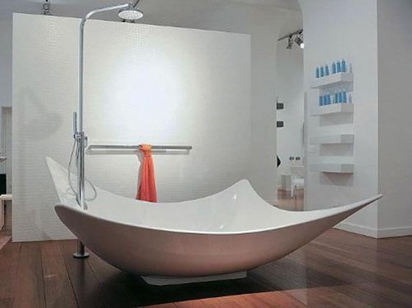Creative Bathtub Designs Art And Design - Hammock shaped bath tub