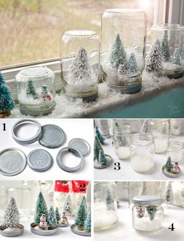 26 How to make Waterless Snow Globes