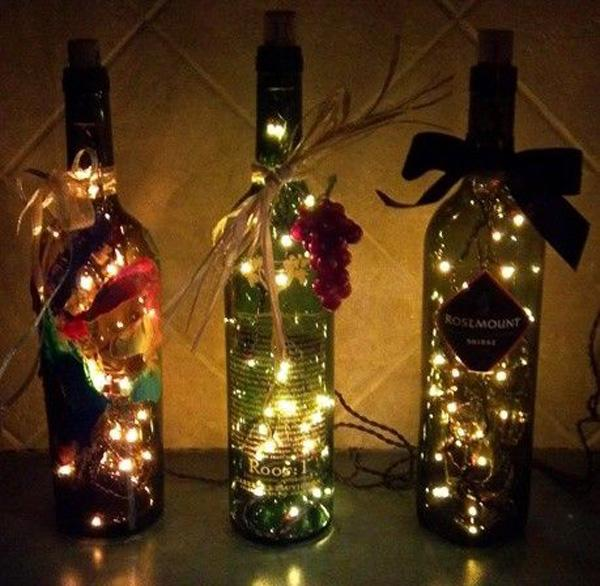 christmas lights in a bottle you can put your christmas lights in a row of