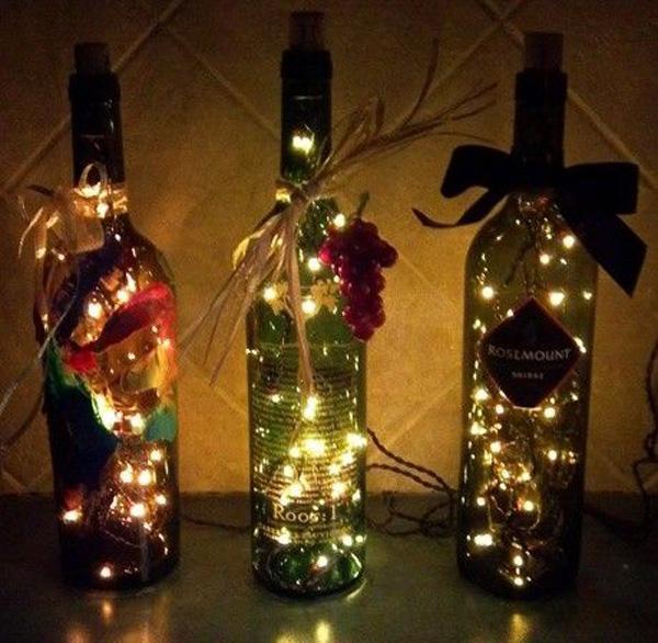 8 light bottles