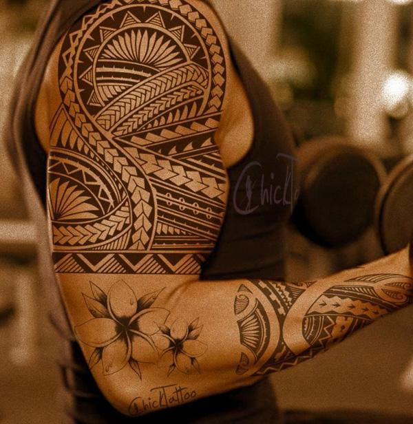Custom Samoan tattoo