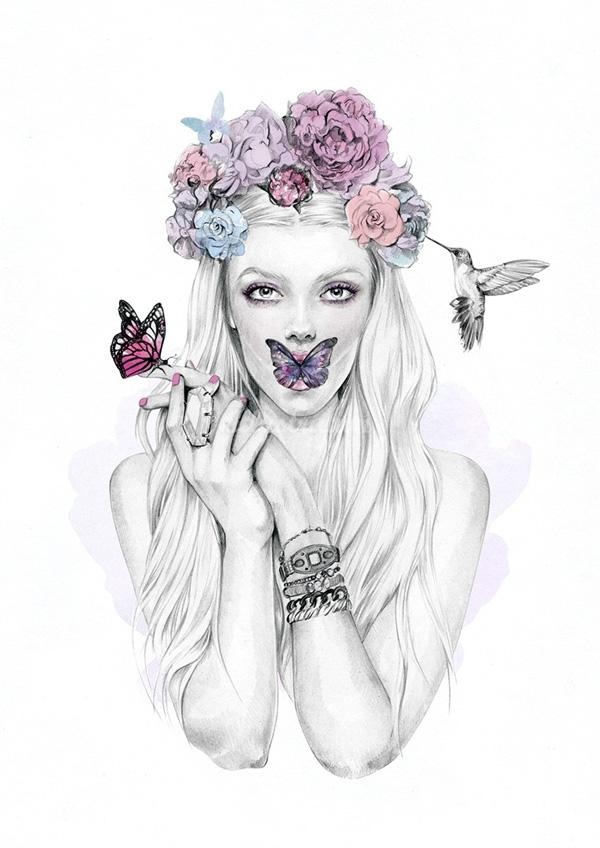 Chic Fashion Illustrations By Kelly Smith Art And Design