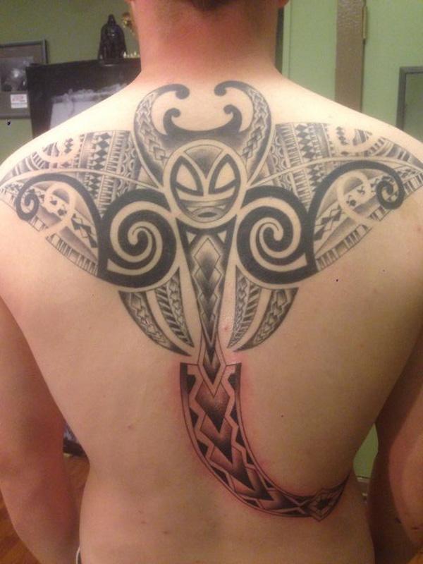 Manta Ray tattoo-14