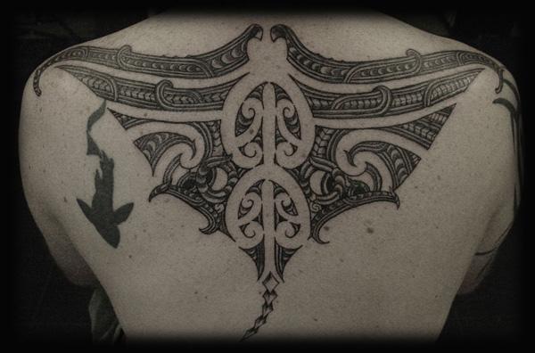 Manta Ray tattoo-18