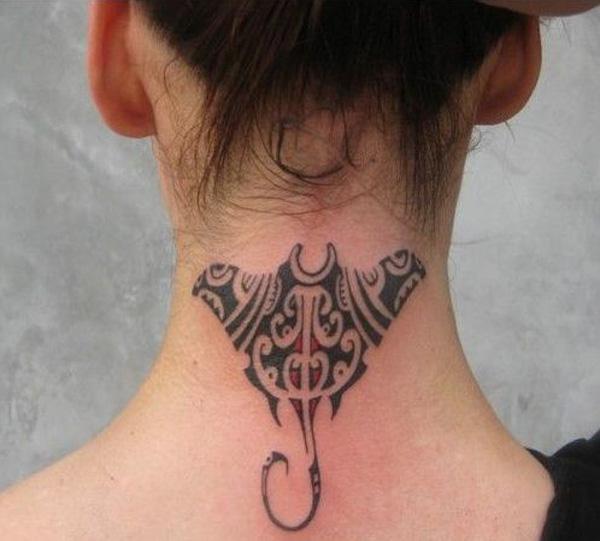 Manta Ray tattoo-20