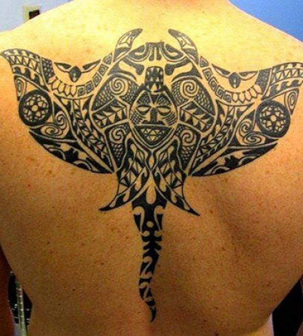 Manta Ray tattoo-21
