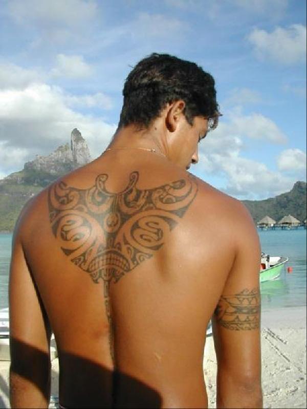 Manta Ray tattoo-28