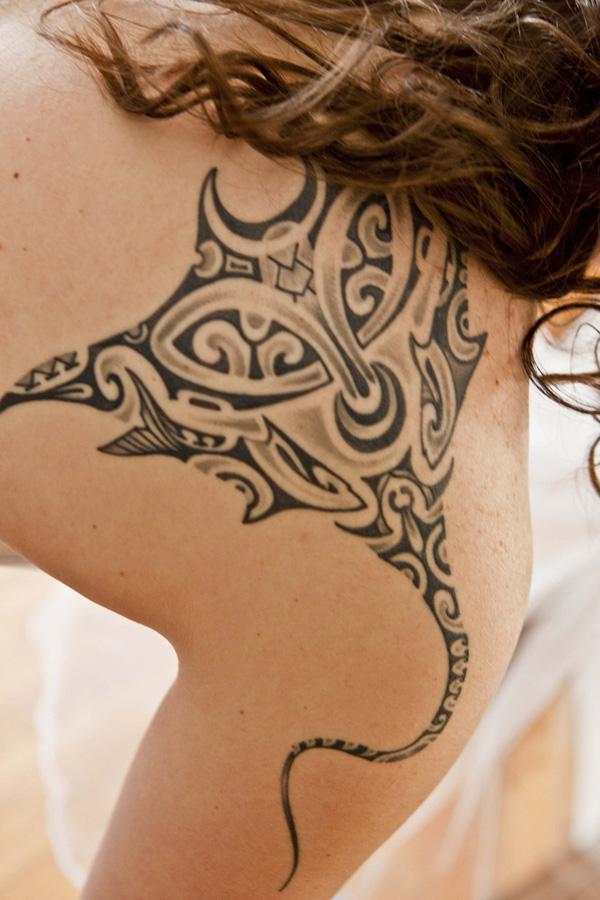 Manta Ray tattoo-31