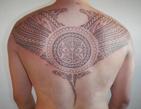 Manta Ray tattoo-33
