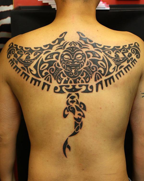 Manta Ray tattoo-34