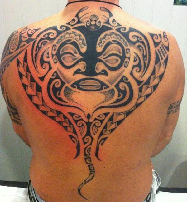 Manta Ray tattoo-36