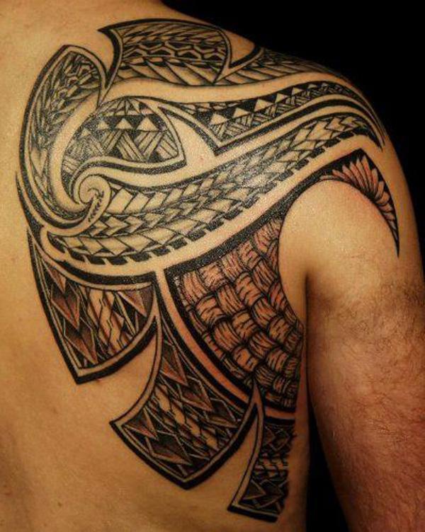 Samoa Tribal neck