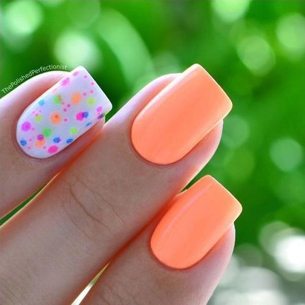 Spring Nails - 45 Warm Nails Perfect for Spring ... - 45 Warm Nails Perfect For Spring Art And Design