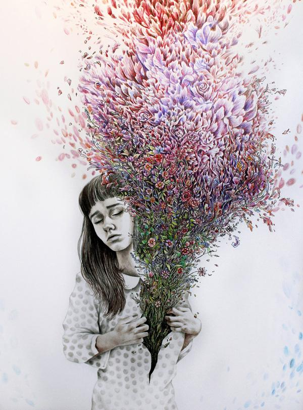 ___all_i_could_think_of_was_flowers_by_katepowellart