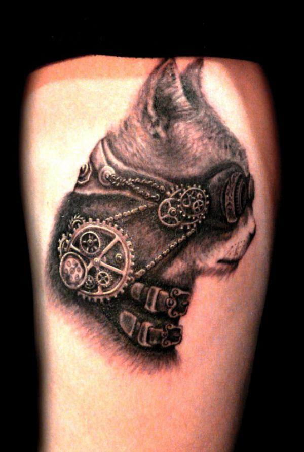 badass steampunk cat600_892