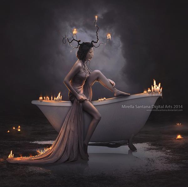 bath_candle_by_mirellasantana