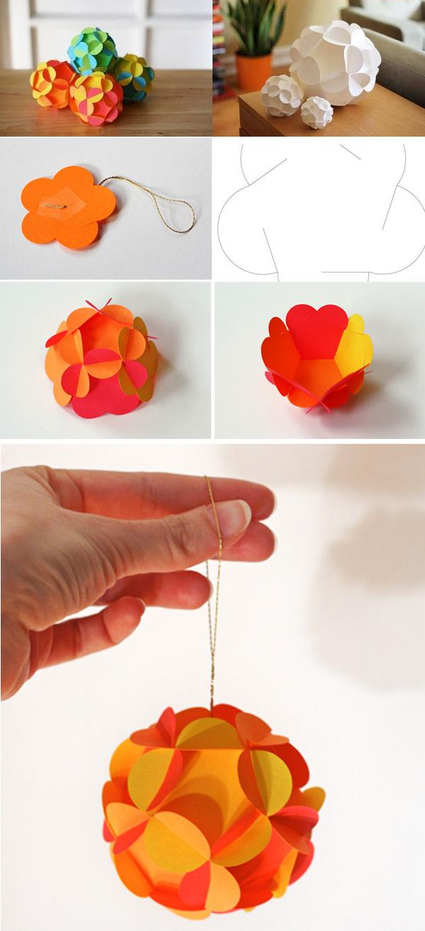 40 origami flowers you can do art and design hanging ball 40 origami flowers you can do jeuxipadfo Images