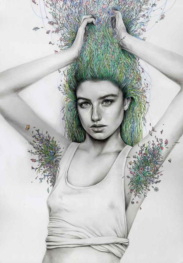 natural_girl_by_katepowellart