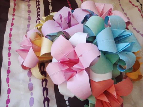 Origami Flower: Easy Tutorial for Beginners (Tulip) - Step by Step ... | 450x600