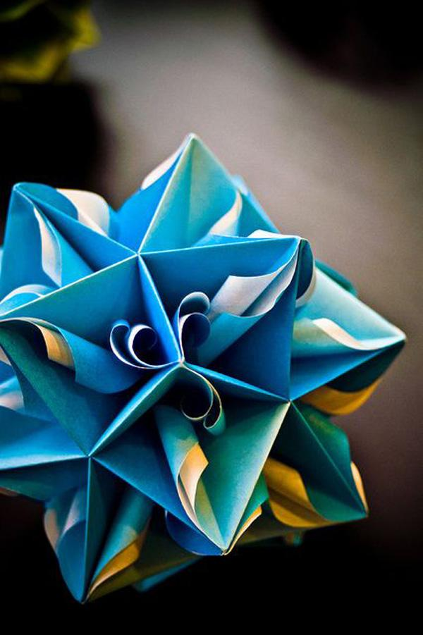 40 Origami Flowers You Can Do | Cuded | 901x600