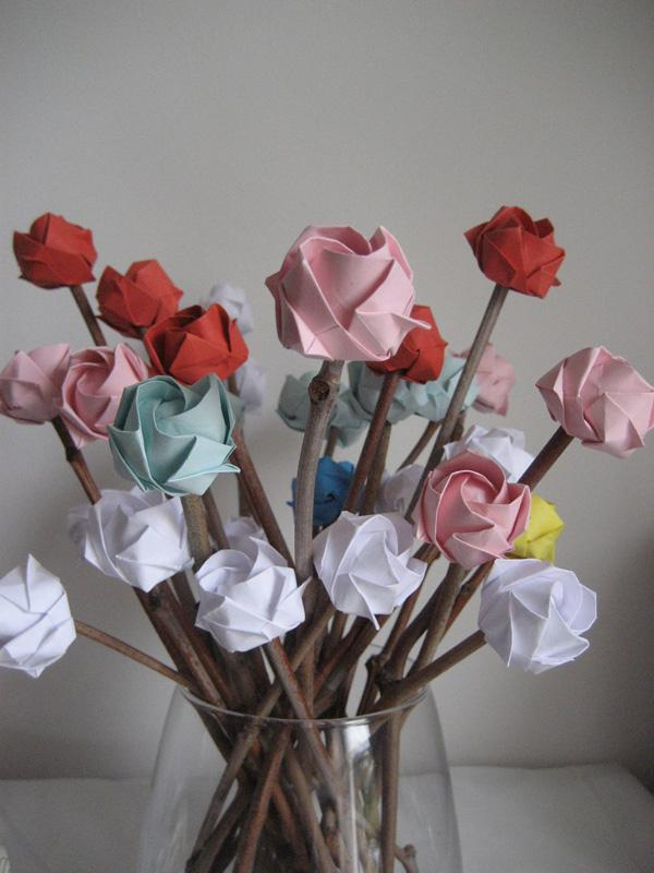40 Origami Flowers You Can Do