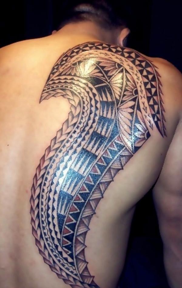 samoa back tattoo