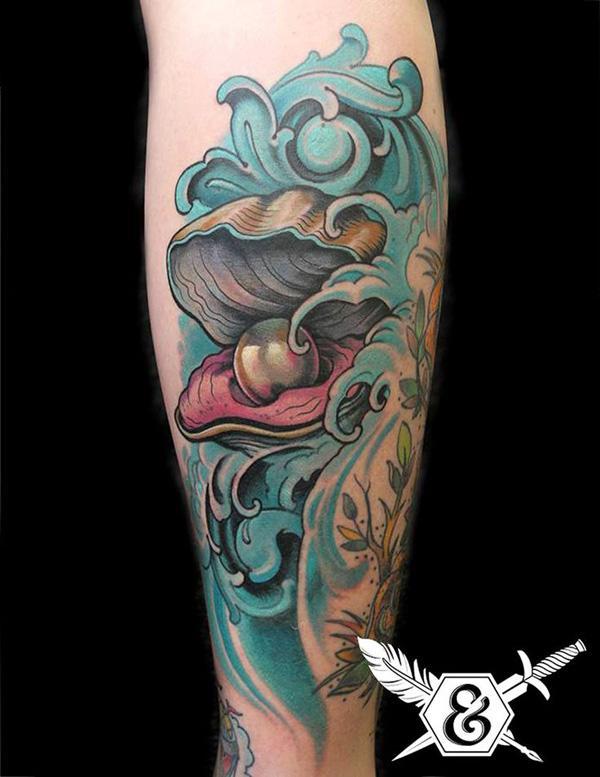 shell  tattoo-25
