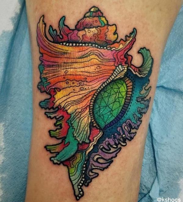 shell  tattoo-30