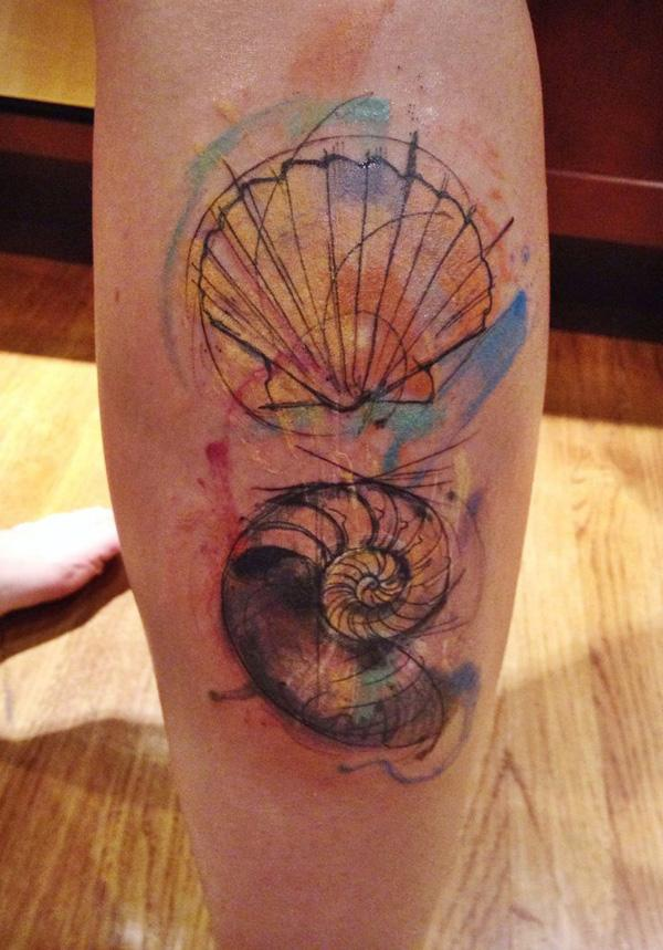 shell  tattoo-34