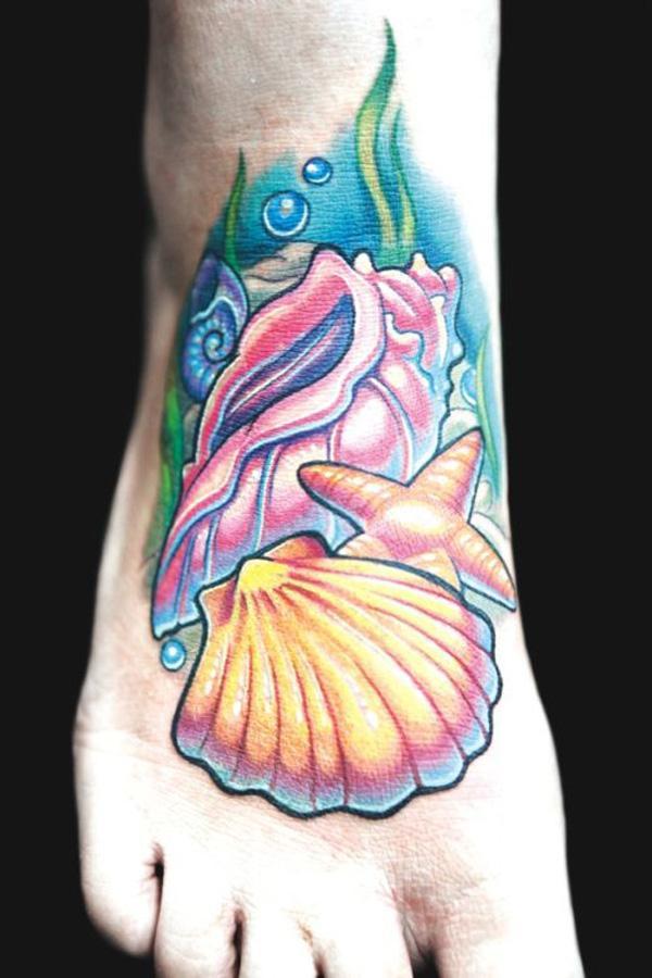 shell  tattoo-36