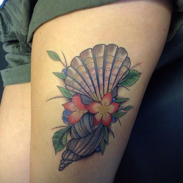 shell  tattoo-42