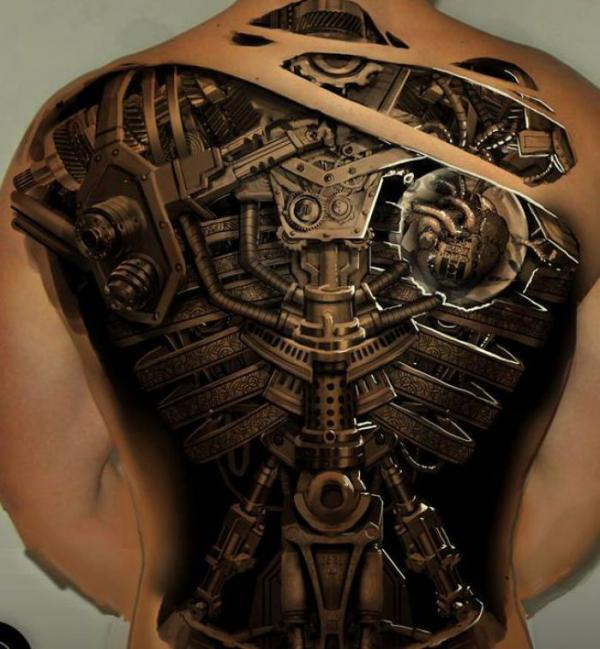 steampunk full back tattoo600_649