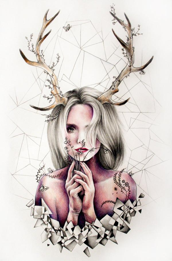 the_antlers_by_katepowellart