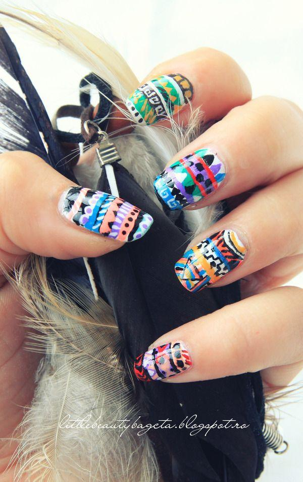 tribal nails-12
