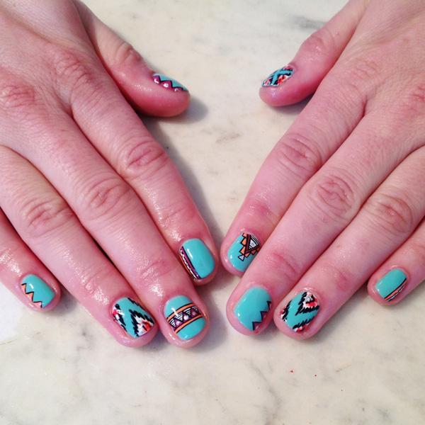 tribal nails-14